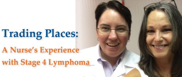 A nurse shares her own experience with cancer