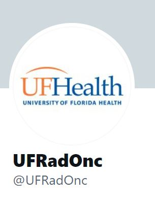 Follow UF Radiation Oncology on Twitter!